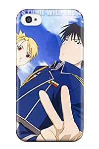 Best Snap-on Fullmetal Alchemist Case Cover Skin Compatible With Iphone 4/4s