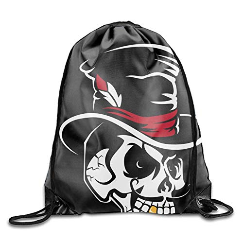 Luxury Jewelry Pouches Drawstring Gift Favor Bags Candy Bag, 11.8 x 15.75 Inch - Skull In The Cylinder