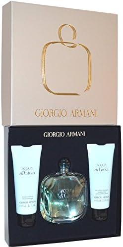 Giorgio Armani Acqua Di Gioia Perfume, Gel de Ducha y Loción - 1 pack: Amazon.es: Belleza
