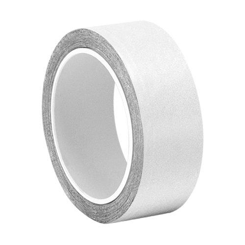 TapeCase 0.625-5-427 - Cinta adhesiva de aluminio y acrí lico, color plateado brillante, con forro de aluminio, convertida de 3 m de grosor 427, 0,64 m de longitud, 0,63 cm de ancho, rollo