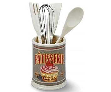 Natives-Lady-Bote para utensilios de cocina, diseño de Cupcake ...
