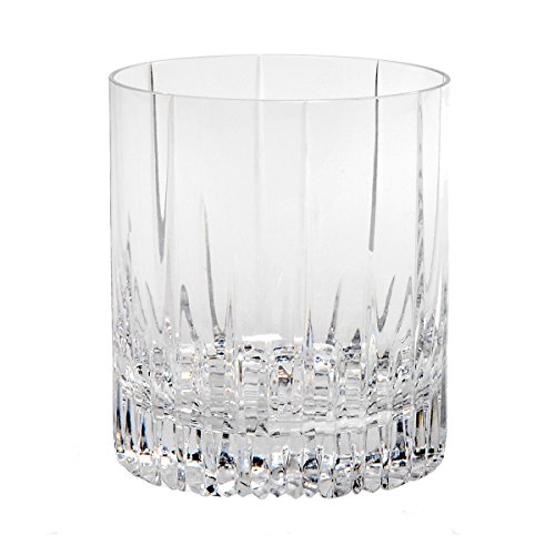 Mikasa Crystal Barware (Mikasa Arctic Lights Crystal Double Old Fashioned, 11.5-Ounce (1 pc))