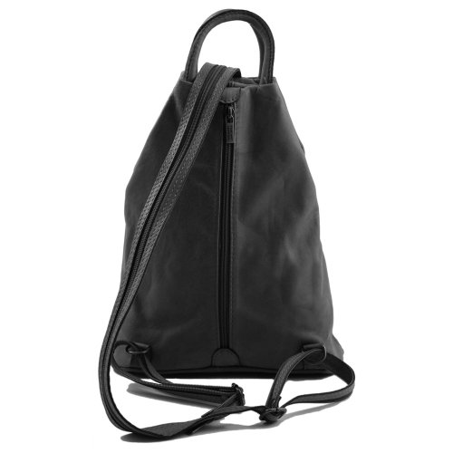 Leather Tuscany Sac Dos Cuir À Rouge vAdqxAZw