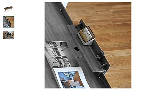 Driftwood 10''Hx29''W Desk Accessory Shelf, Can Be Hung On The Riser Behind & Above The Worksurface On Any 24'' Or Wider Units, 6Lb. Brown Manufactured Wood