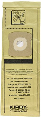 Kirby Micron Magic Vacuum Bags Sentria Ultimate Diamond G6 G5 G4 G3 197394 (Vacuum Cleaner Parts Riccar Sl)