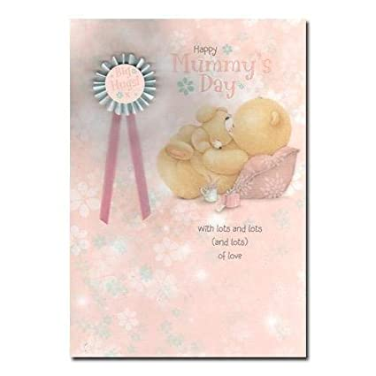 Hallmark Mother's Day Card 'Mummy Cute Forever Friends 3D