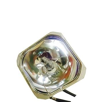 Bare proyector LCD bombilla lámpara de repuesto para EPSON h447 a ...