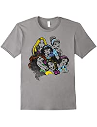 Princess Group Bold Color Pop Graphic T-Shirt