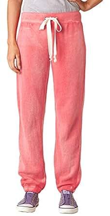 MV Sport W2355 Ladies Angel Fleece Sanded Pants - Jade, Small
