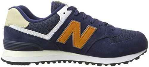 Collo Basso Uomo New Sneaker Blu a Navy 574 Balance Orange wOxvRRqIU