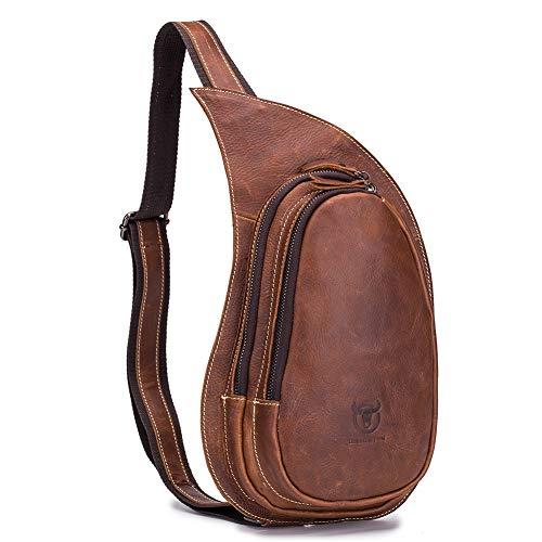 Hombres Bag F6206 Messenger De Sling Bandolera Gloozd Tableta Viajar Mochila Bandoleras Crossbody Bolso Pecho Hombre qw6FPO