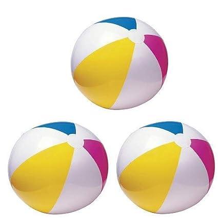 Amazon.com: 3 grandes pelotas de playa, 24