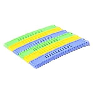 Sealing Clip - TOOGOO(R)1Set(6Pcs)-Colorful Plastic Bag Food Preservation Sealing Clip