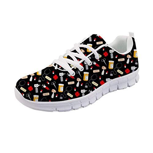 Showudesigns De Print Nurse 4 Running Zapatillas Para Mujer r5qrw1