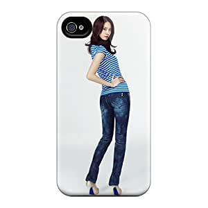 Iphone 4/4s Hard Back With Bumper Silicone Gel pc Case Cover Yoona