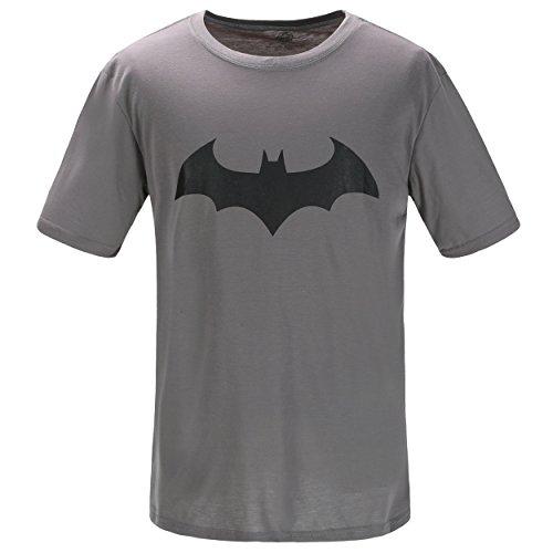 Justice League Batman T-Shirt, Graphic Short-Sleeve Novelty Tee
