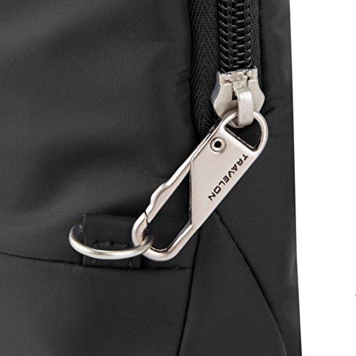 Travelon Anti-Theft Classic Light Mini Crossbody Bag, Black by Travelon (Image #6)