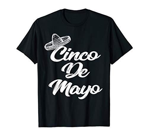 Funny Cinco de Mayo Shirt Sombrero T-shirt
