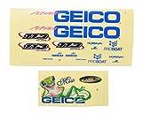 PRB0304 Pro Boat Miss Geico 17 Decal Sheet PR0304