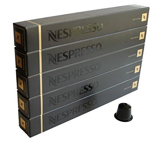 NESPRESSO 네스프레소 캡슐 커피 리스트《렛토》 1개 10캡슐×5개 세트