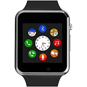 Amazon.com: ZOMTOP Q18 Smart Watch Phone Bluetooth Camera ...