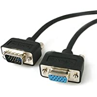 StarTech.com  Low Profile High Resolution Monitor VGA Extension Cable HD15 M/F - 15  Feet (MXT101LP15)