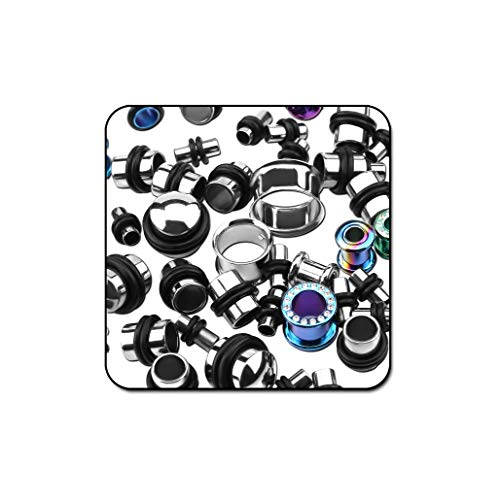 Bubble Body Piercing Value Pack of Mix Titanium Tunnels and Plugs - Pack of 50 Pcs by Bubble Body Piercing (Image #1)
