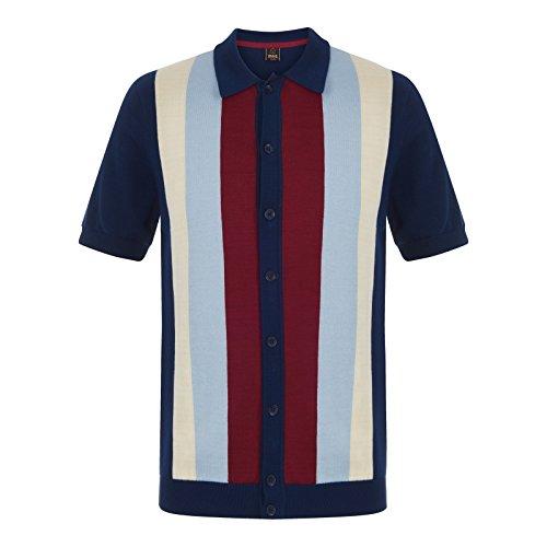 Merc Clothing Upton, Strickpolo Navy S