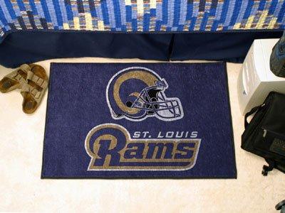 St Louis Rams Starter Rug 19x30