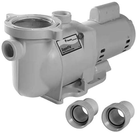 Pentair 340096 SuperFlo High Performance Energy Efficient Pump, 1 1/2 Horsepower, 240 Volt, 1 Phase, 50 - Pentair Superflo Pool Pump