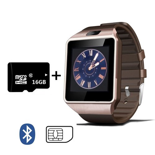 Amazon.com: 16G SD MEMORY Smart Watch Digital DZ09 Wrist ...