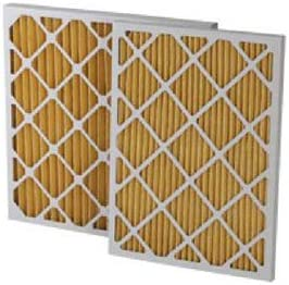 Merv 11 Filtration Manufacturing 0211-12242 Pleated Filter 12 W x 24 H x 2 D Lot of 12
