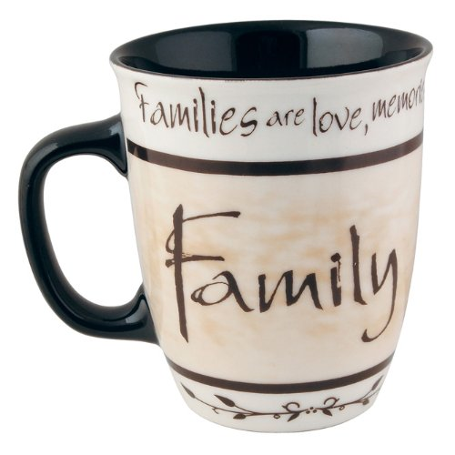 Coffee Mug, Families Are Love, Memories, and Laughter We Share Together by Carson Home