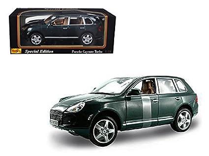 Maisto 31634 Porsche Cayenne Turbo Green 1/18 Diecast Model Car