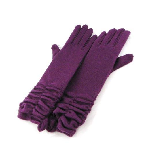 [リリーの宝 (Les Tresors De Lily)] (Clothilde コレクション) [H8574] 手袋 バイオレット