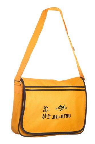 Retro Messenger Bag gold/schwarz Jiu-Jitsu