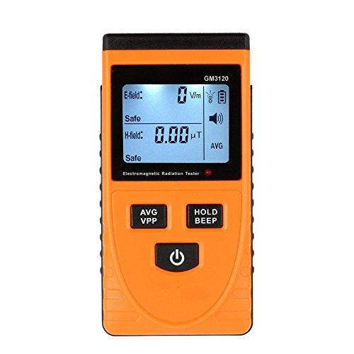 GXG-1987 GM3120 LCD Digital Electromagnetic Radiation Detector Dosimeter Tester EMF Meter Counter