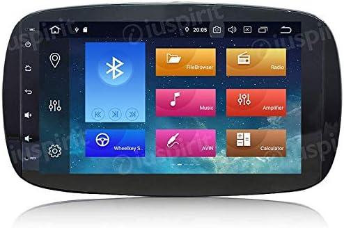 Android 10 GPS USB WiFi Bluetooth Radio Navegador Smart Fortwo W453 2014 2015 2016 2017 2018 4GB RAM 64GB ROM