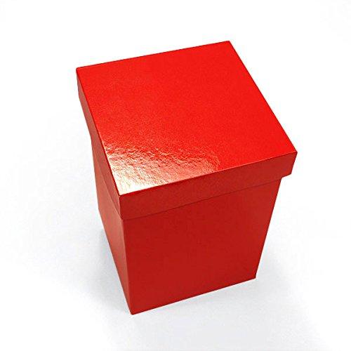 50ea - 12 X 12 Red Heavy Wall Gift Box Lid
