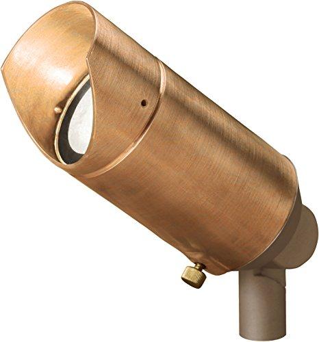 Kichler 15384CO, Copper Low Voltage Copper Landscape Accent Lighting Fluorescent, Copper