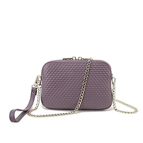 multicolor temperamento joyera de moda Purple de a de algodn color mano de Cuentas tejidas pendientes perlas de de elegante pendientes imitacin perlas BxR4nPTq