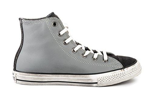 2017 Grigia 659011c Hi 307739 Converse Leather grigio As i Ct Nero A Scarpe wXqxa4R8q