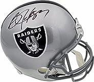Bo Jackson Autographed Oakland Raiders Full Size Replica Helmet Beckett BAS Stock #113781 - Autographed NFL He
