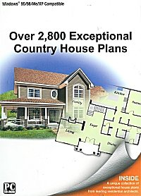 2,800 Exceptional Country House Plans