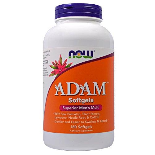 Now Foods Adam Men's Multiple Vitamin – 180 Softgels 4 Pack For Sale