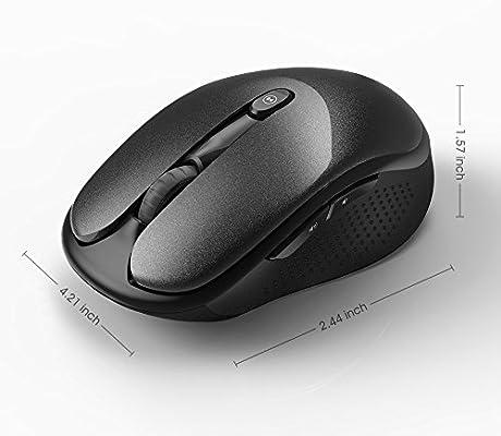 477173b063b7 Amazon.com: Havit 2.4G Wireless Mouse 2000DPI Optical Mini Portable ...