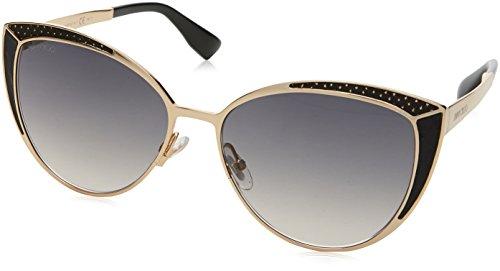 Sunglasses Jimmy Choo Domi/S 0PSU Rose Gold / 9C dark gray gradient - Jimmy Sunglasses Buy Choo