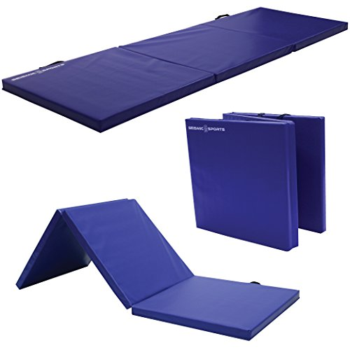 Seismic Sports SSM-26 - Gymnastics Mat for Tumbling Yoga Exercise Karate Cheer, 2'x6'x1.5' by Seismic Sports