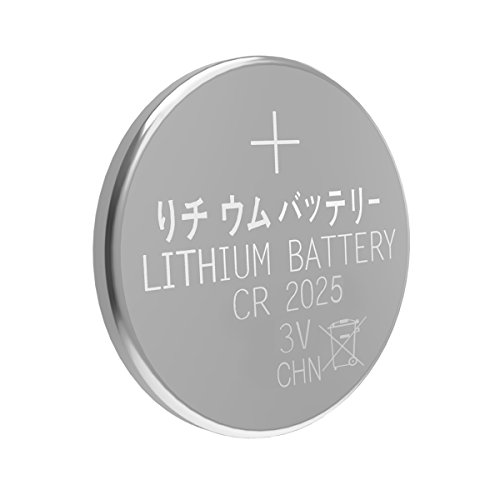 Esonstyle 30pcs CR2025 Battery 3 Volt Lithium Battery CR 2025 Coin Button Cell (30 pcs)
