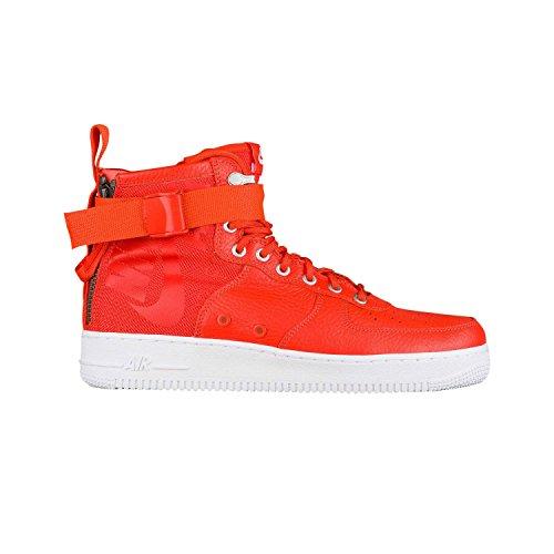 Nike Men's SF AF1 Mid Team Orange/Team Orange Basketball Shoe 9 Men US